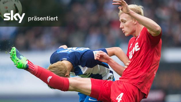 Köln verliert bei Hertha 1:2 - das Video! (Bild: AP)
