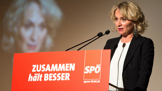 SPÖ Tirol wählte Elisabeth Blanik zur neuen Chefin (Bild: APA/EXPA/JAKOB GRUBER)