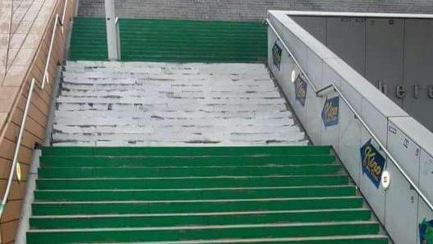 Wiener Derby: Hooligans schlugen aufeinander ein (Bild: facebook.com)
