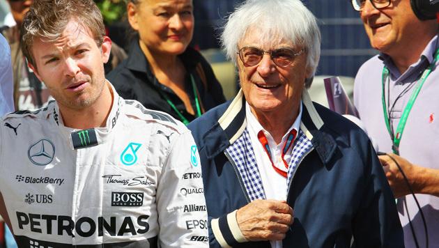 Ecclestone: Rosberg wäre schlechter Weltmeister (Bild: GEPA)