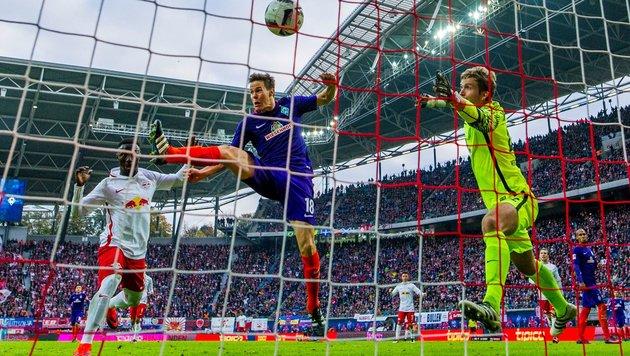 Naby Keita schießt RB Leipzig zu 3:1 über Werder (Bild: AFP or licensors)