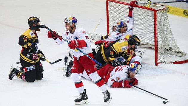 Salzburger Eisbullen besiegten die Vienna Capitals (Bild: GEPA pictures)