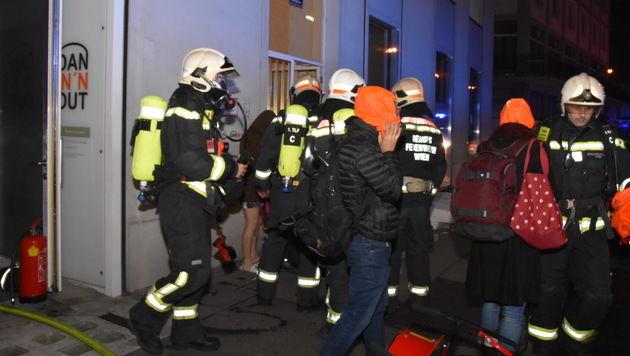 Nach Feuer in Wiener City: Brandstifter gesucht (Bild: MA 68 Lichtbildstelle)