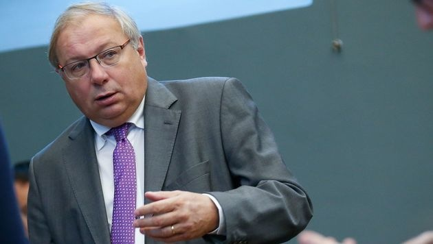 Der wallonische Parlamentspräsident Andre Antoine (Bild: APA/AFP/Belga/BRUNO FAHY)