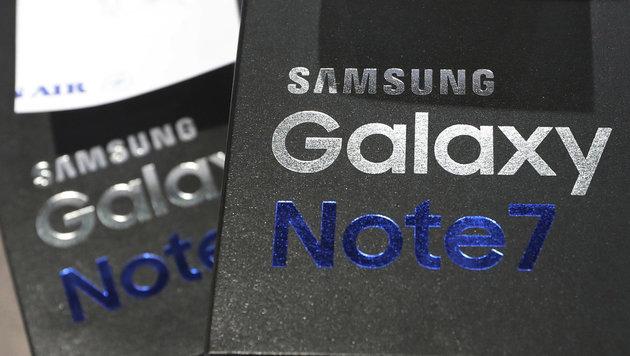 Pannen-Handy Samsung Galaxy Note 7 kehrt zurück (Bild: AP)