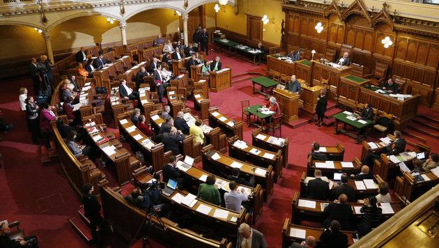 Der Wiener Gemeinderat (Bild: Zwefo)