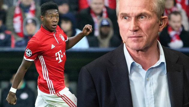 """Bayern-Legende: """"Alaba hat kein Mittelfeld-Gen"""" (Bild: GEPA)"""