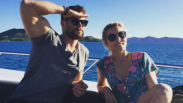 Chris Hemsworth und Elsa Pataky (Bild: instagram.com/chrishemsworth)