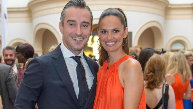 Tanja Duhovich und ihr Ehemann Stergios Prapas (Bild: Viennareport)