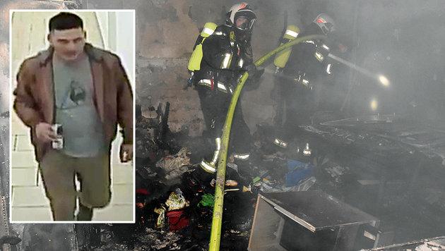 Nach Feuer in Wiener City: Brandstifter gesucht (Bild: Lichtbildstelle MA 68, APA/LPD WIEN)
