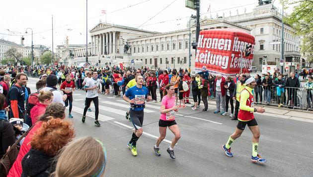 Premiere bringt Vienna City Marathon 50.000 L�ufer (Bild: VCM / Leo Hagen)