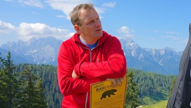 Dieter Mörtl, Bürgermeister von Feistritz (Bild: Hannes Wallner)