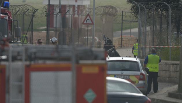 Malta: Flugzeugabsturz mit 5 Toten gibt Rätsel auf (Bild: APA/AFP/MATTHEW MIRABELLI)