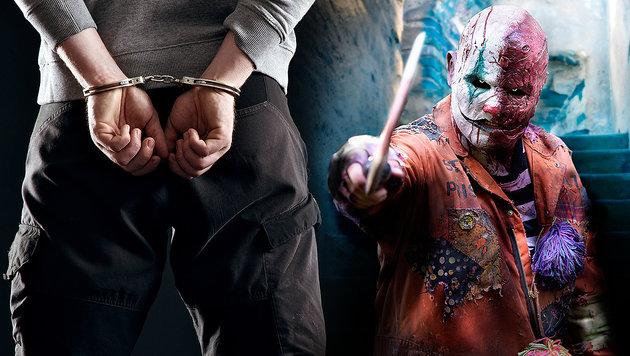 Erster Horror-Clown in Deutschland festgenommen (Bild: thinkstockphotos.de (Symbolbild))