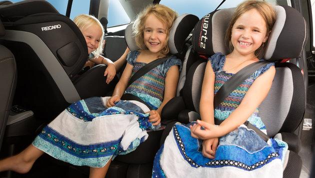 Kindersitztest: Einer der teuersten durchgefallen (Bild: Studio Huger/ÖAMTC)