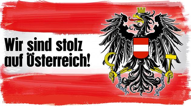 """Nationalfeiertag im politischen Nebel (Bild: """"Krone""""-Grafik)"""