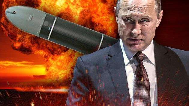 """Satan""-Rakete könnte halb Europa vernichten (Bild: Makeyev, thinkstockphotos.de, AFP/OZAN KOSE)"