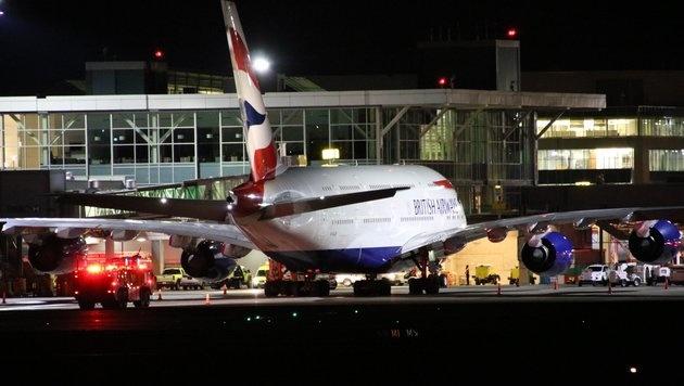 Vancouver: 25 Verletzte bei Airbus-Notlandung (Bild: twitter.com/nafeesakarim)