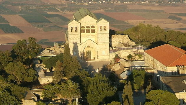 Verklärungsbasilika im Norden Israels ausgeraubt (Bild: Wikipedia (Public Domain))