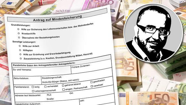 Zwei Gründe mehr für Reform der Sozialhilfe (Bild: thinkstockphotos.de, krone.at-grafik)