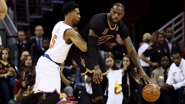 Cleveland souverän - Heim-Klatsche für Warriors (Bild: APA/AFP/GETTY IMAGES/EZRA SHAW)