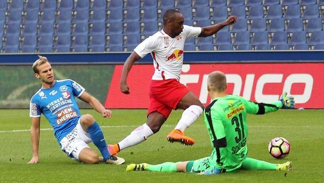 Cup: Salzburg stellt gegen FAC neuen Rekord auf (Bild: APA/KRUGFOTO)