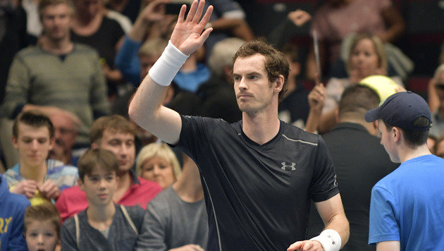 """Wien: Für Murray """"hätte es besser laufen können"""" (Bild: APA/HANS PUNZ)"""