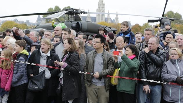 Über eine Million bei Leistungsschau des Heeres (Bild: Klemens Groh)