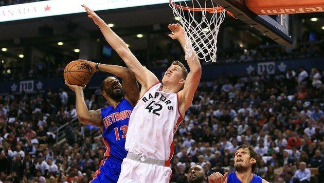 "Historisch! Jakob Pöltl mit ""coolem"" NBA-Debüt (Bild: Getty Images)"