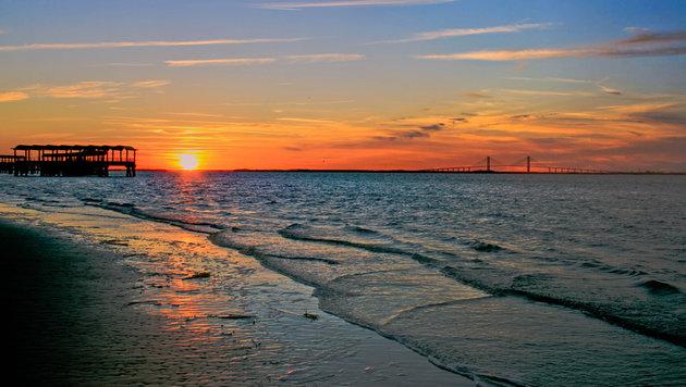 Die Küste des US-Bundesstaates Georgia bietet malerische Naturimpressionen. (Bild: flickr.com/Bert Cash)