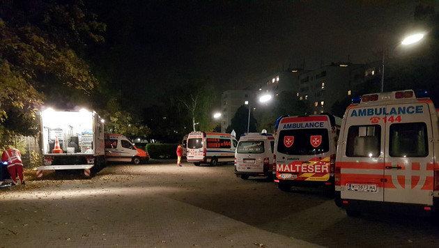 Terrorangst bei Feuerwehreinsatz in Wien (Bild: Berufsrettung Wien)