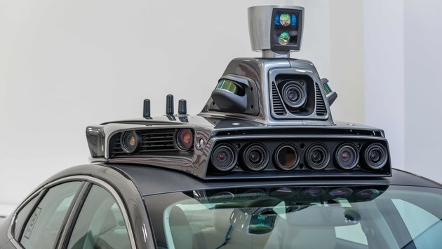 China: Durchbruch beim autonomen Fahren ab 2021 (Bild: AFP)