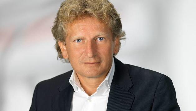 """Gerhard Riedler ist """"Medienmanager des Jahres"""" (Bild: Mediaprint)"""