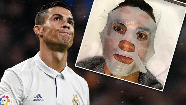 Ist Cristiano Ronaldo Botox-süchtig? (Bild: AFP, instagram.com)