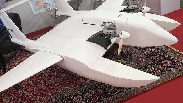 Die Kamikaze-Drohne der iranischen Revolutionsgarden (Bild: APA/AFP/TASNIM NEWS)