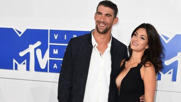 Michael Phelps seit Monaten heimlich verheiratet (Bild: AFP)