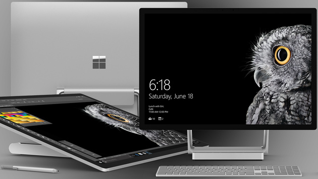 Surface Studio: Microsoft enthüllt All-in-One-PC (Bild: Microsoft)
