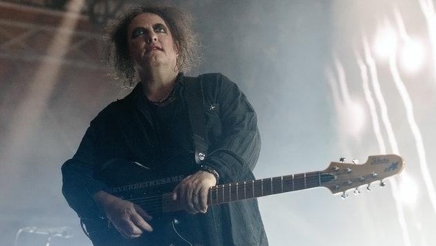 The Cure: Gute Musik in schlechtem Ambiente (Bild: Andreas Graf)