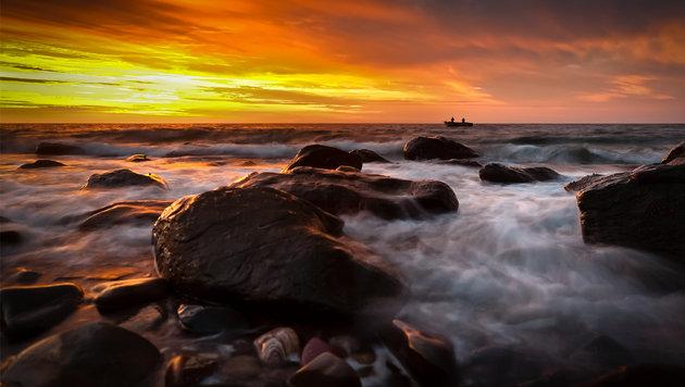 Ein Strand im südlichen Australien unweit der Millionenstadt Adelaide (Bild: flickr.com/James Yu)