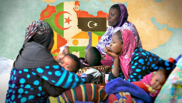 """Kopftuch für alle Frauen """"aus Solidarität"""" (Bild: APA/AFP/HABIBOU KOUYATE, thinkstockphotos.de)"""