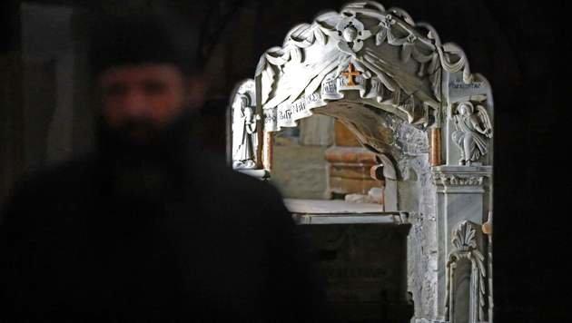 Jesus-Grab nach fast 500 Jahren wieder geöffnet (Bild: AFP or licensors)
