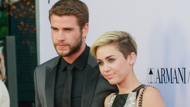 Miley Cyrus und Liam Hemsworth und verlobt (Bild: Hollywood Picture Press/face to)