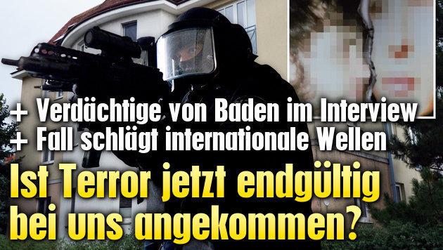 Ist der Terror jetzt endg�ltig bei uns angekommen? (Bild: Monatsrevue/Thomas Lenger, krone.tv, APA/ROLAND SCHLAGER)