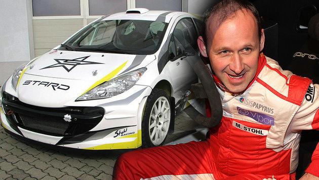Österreicher fährt erstes elektrisches Rallye-Auto (Bild: APA/STOHL GROUP GMBH)