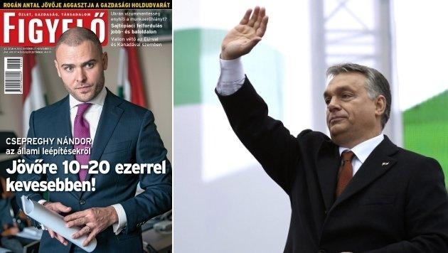 """""""Figyelo"""" ist das neueste Opfer der medienfeindlichen Stimmung unter Ungarns Premier Viktor Orban. (Bild: mediacity.hu, ASSOCIATED PRESS)"""