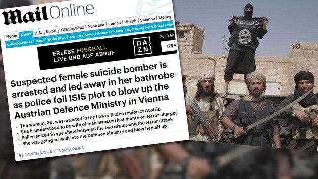 Der Fall aus Baden sorgt auch international für Schlagzeilen. (Bild: dailymail.com (Screenshot))