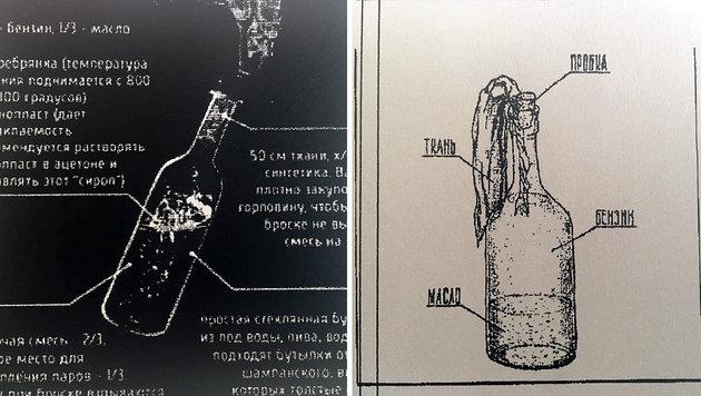 Auf einem PC, der Sali S. gehört, wurden Pläne für den Bau von Molotowcocktails heruntergeladen. (Bild: krone.at)