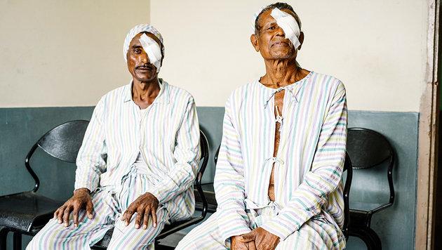 In einer Klinik erhalten Graue-Star-Patienten ihr Augenlicht zurück. (Bild: Gregor Kuntscher)