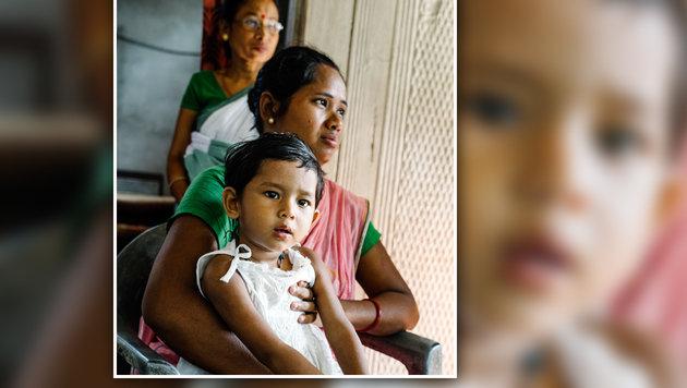 Für Dikitas Mama brach nach der Diagnose Zerebralparese eine Welt zusammen. (Bild: Gregor Kuntscher)