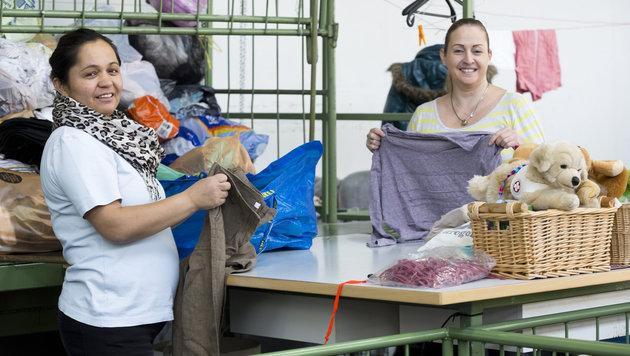 Die Caritas-Textil-Einrichtung in Hohenems: Für viele eine Möglichkeit, ins Berufsleben einzusteigen (Bild: Mathis Fotografie)